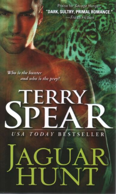 Terry Spear  Jaguar Hunt   Paranormal Romance  Pbk NEW