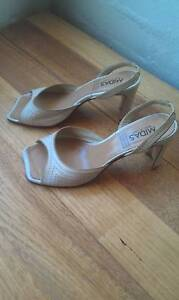 Beige heeled sandals South Perth South Perth Area Preview