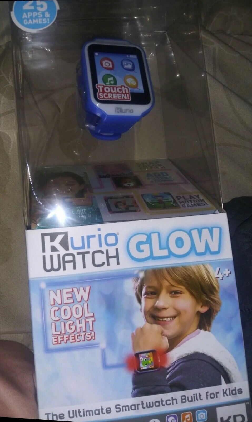 Pink KURIO Watch 2.0+ ULTIMATE Smartwatch Kids 25 Games Apps