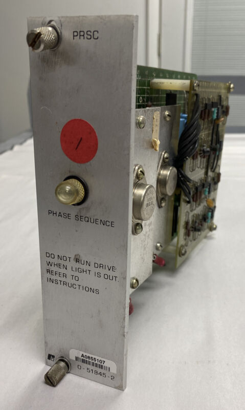 Reliance Electric Prsc 0-51845-2 Precision Refrence Supply Refurbished