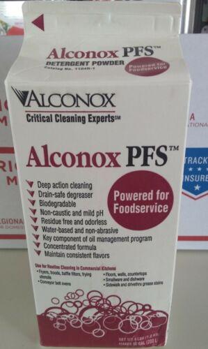 Alconox PFS Fryer Cleaner 4 LB Detergent Powder 1104R-1 EXP. 8/22