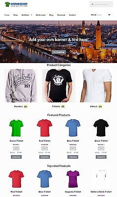 Professional Custom Products T Shirts Online Store Website   Teespring