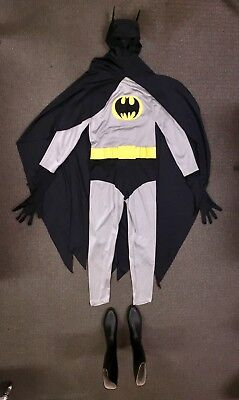 BATMAN COSTUME PROFESSIONAL HOLLYWOOD DC COMICS WOW! SUPER HEROES HALLOWEEN - Professional Halloween Costumes