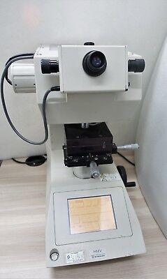 SHIMADZU HMV-2/ HMV-2T MICRO VICKERS HARDNESS TESTER w ELECTRIC REVOLVER TURRET