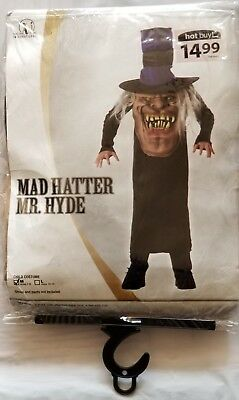 Mad Hatter mr. Hyde Halloween costume for kids size medium ages 7 to - Mr Hyde Costume