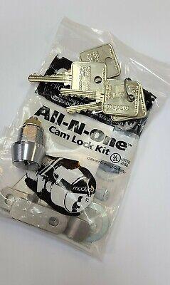 Medeco 58 Cam Lock Kit 4 Keys 60w1150t-kit-26-l8
