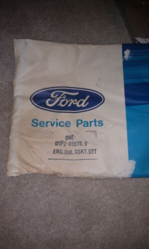 Ford OEM NOS 70's Engine Overhaul Gasket set p/n D5PZ-6E078-A