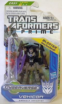 "VEHICON Transformers Prime Hub Animated Legion Class 3"" inch Figure #2 2012"