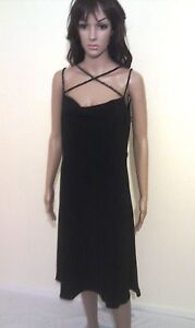 JASPER-CONRAN-Evening-Dress-Black-Wedding-Cocktail-Party-Prom-Ball-SIZE-12