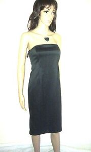 JASPER-CONRAN-Designer-Dress-Black-Wiggle-Pencil-Evening-Cocktail-SIZE-10