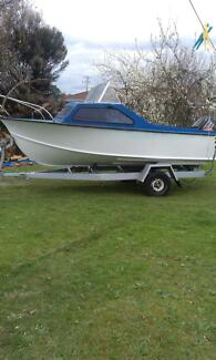 Boat and trailer no rego Norwood Launceston Area Preview