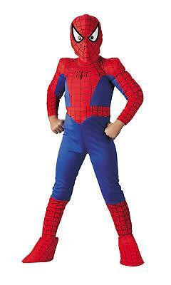 Spiderman Kinder Deluxe Comic Kostüm Jungen Film Superheld Kinder Thema Party
