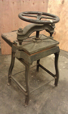 Bookbinding Screw Press