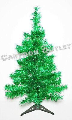 CHRISTMAS TREE 2 FT CHARLIE PINE GREEN TINSEL NATURAL TABLE TOP DECOR GIFT ()