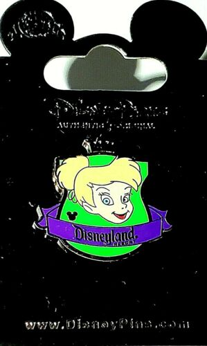 Disney Parks DLR 2012 Hidden Mickey Series Crest Collection Tinker Bell Pin.