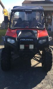 2012 Polaris rzr 570 with aluminum trailer