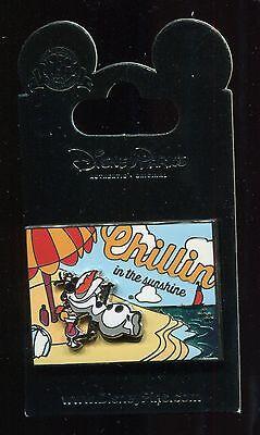 Frozen Olaf Chillin in the Sunshine Summer Postcard Disney Pin 102710 - Summer Olaf