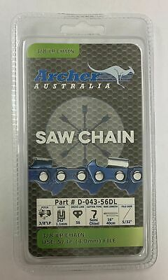 "16"" Archer Chainsaw Saw Chain Greenworks 40V-G Max DigiPro 3/8LP .043 56DL R56"