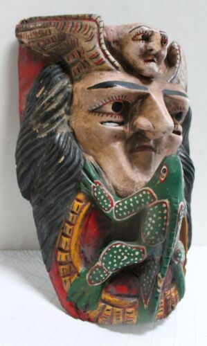 MEXICAN MASKS: A GROUP OF FIVE