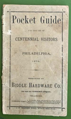 Philadelphia Centennial Visitors Pocket Guide. 1876