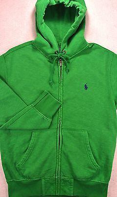 NWT Polo Ralph Lauren SIZE SMALL Full Zip Fleece Hoodie Hooded Sweatshirt S