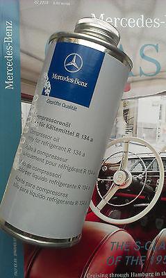 A/c Compressor Free Oil (Mercedes Genuine R134a A/C Compressor Oil FREE SHIPP )