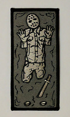 Friday The 13th Jason In Carbonite Patch, Star Wars, Boba Fett, Halloween Prop - Friday The 13th Halloween Props