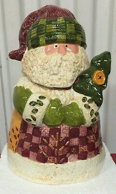 Brand new Ceramic Santa Claus Suite cookie Jar Holiday collection  Ceramic Santa Cookie Jar