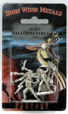 Ral Partha 20-553 Halloweeners Gang (Shadowrun) Street Punks Gangers Miniatures (20 Halloween Games)
