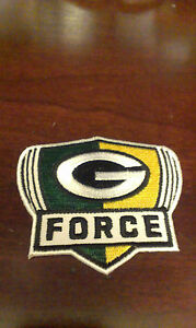 .............,GREEN BAY PACKERS G-FORCE PATCH,JERSEY READY EASY IRON-ON.
