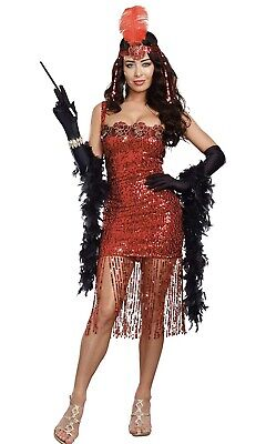 Adult Theme Costumes (New Dreamgirl Ain't She Sweet Woman Adult 1920's Costume Theme Halloween)