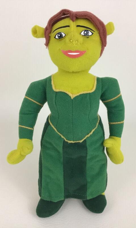 "Shrek Princess Fiona 9"" Plush Stuffed Doll Green Ogre Nanco 2004 Dreamworks"