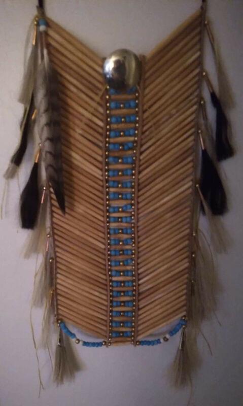 Native American Bone Breast Plate hand made new