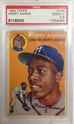 Hank Aaron Rookie Card