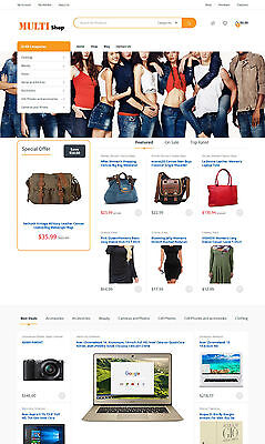Professional Multiple Affiliates Store Website Ecommerce Make Money Online