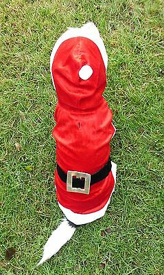 Weihnachtskostüm Weihnachtsmantel Weihnachten Hundejacke Hundemantel Gr. xxxs-L (Hund Weihnachten Kostüm Kostüme)