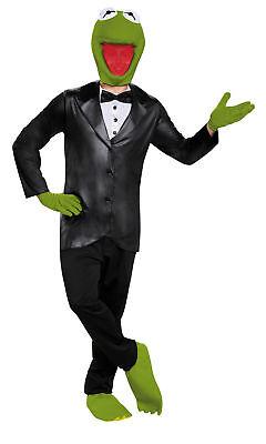 Kermit Deluxe Adult Men Costume TV Character Funny Green Famous Frog Halloween