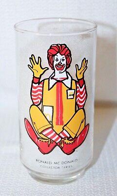 """1976/77 McDonalds Collector Series """"Ronald McDonald"""" Glass  5 5/8"""" Tall"""