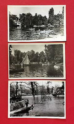 3 x Foto AK BULGARIEN Sofia 1960 Stadtpark   ( 9668