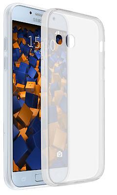 mumbi Hülle für Samsung Galaxy A5 (2017) Schutzhülle Ultra Slim Case Tasche klar (Samsung Galaxy A5 Slim Case)