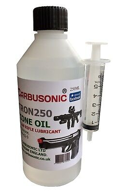 Silicone Gun Oil Lubricant 250 ml - Airsoft - Air Rifle - Paint Ball 100% Pure