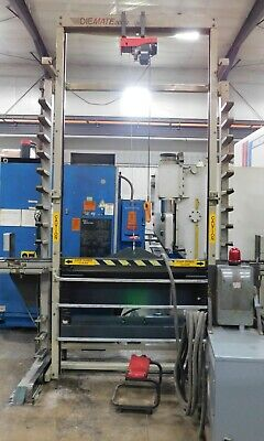 10167 Diemate 2000 Press Brake Tooling Storage System