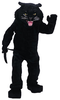Panther Black Mascot Complete Costume Cat Adult Professional Rental - Professional Costume Rental