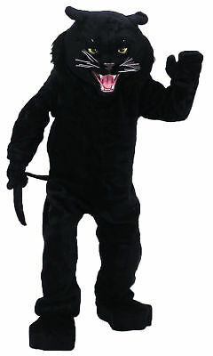 Panther Black Mascot Complete Costume Cat Adult Professional Rental Quality - Professional Costume Rental