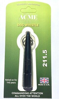 Acme 4850 Hz Plastic Dog Training Whistle, Black - Model No. 211.5