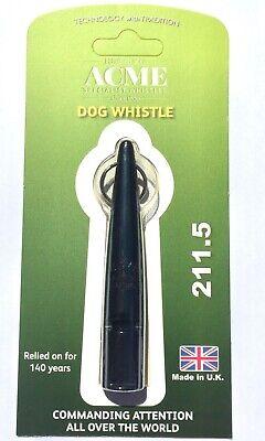 Acme 4850 Hz Plastic Dog Training Whistle, Black - Model No. 211.5