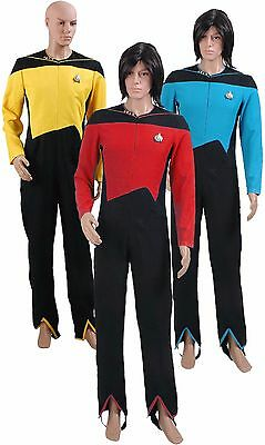 Star Trek TNG The Next Generation Jumpsuit Uniform Halloween Costume (Star Trek Tng Halloween Costumes)