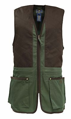 BERETTA COTTON TRAP VEST GREEN  U.S. SIZE LARGE (Beretta Shooting Vest)