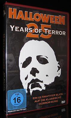 25 Years Of Halloween (DVD HALLOWEEN - 25 YEARS OF TERROR - MICHAEL MYERS - DOKUMENTATION - HORROR)