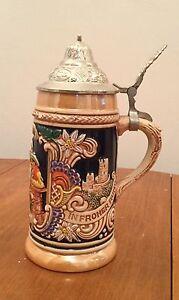 Bock a bière anglais de collection